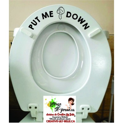 toilet put my down ST09