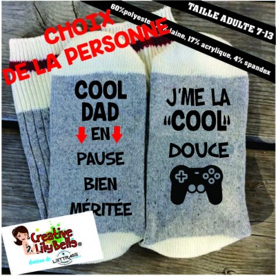 COOL DAD COOL DOUCE GAMER BAS19