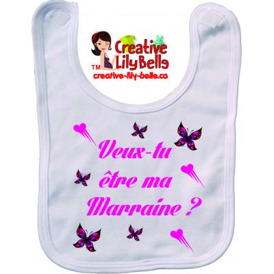 BAVETTE DEMANDE PARRAIN MARRAINE BA4