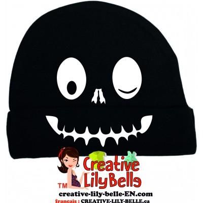 bonnet squelette halloween t07