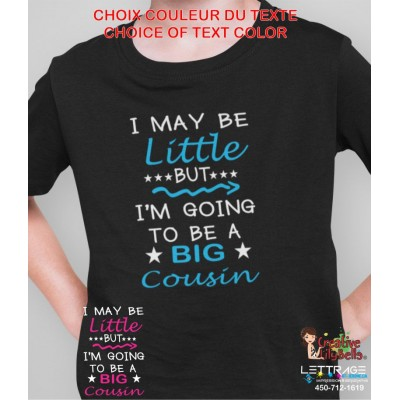 TO BE BIG COUSIN SHIRT CC3552