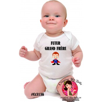 BABY BODY SUIT  BROTHER 3136