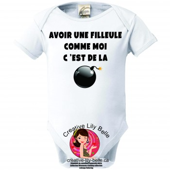 BABY BODYSUIT MARRAINE 3130