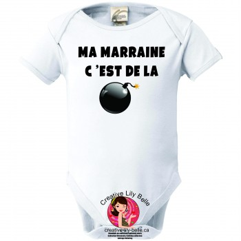 BABY BODYSUIT MARRAINE 3129