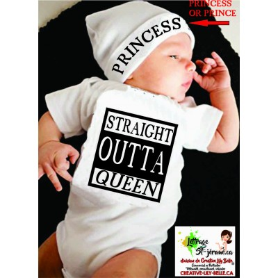 STRAIGHT OUTTA  MOMMY, QUEEN 3436