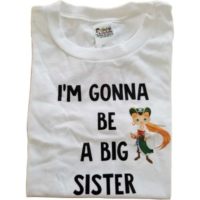 big sister t-shirt or baby bodysuit 3200