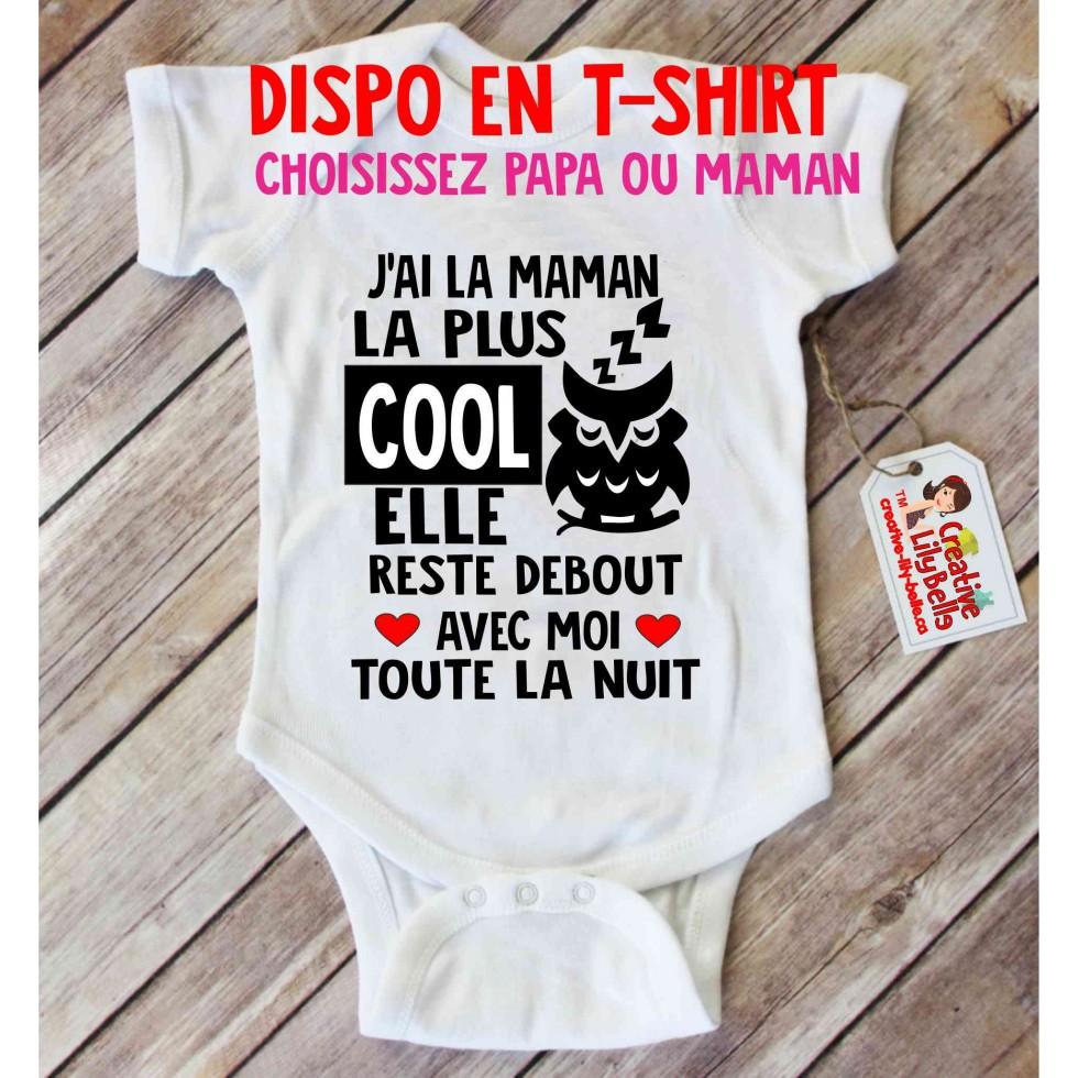 Baby Bodysuit Maman Cool 3137