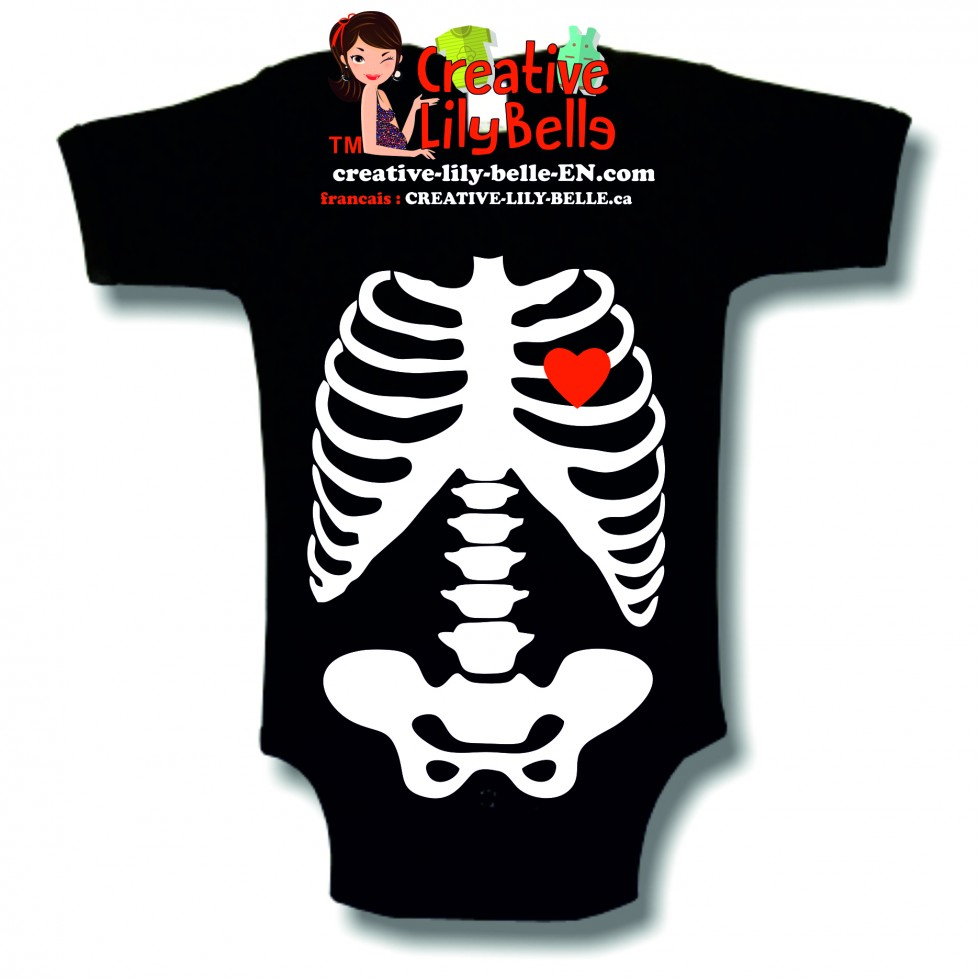 cache couche squelette halloween 3009 - Squelette Halloween
