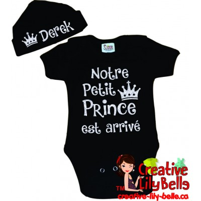 BODYSUIT LITTLE PRINCESSE ARRIVED 3317