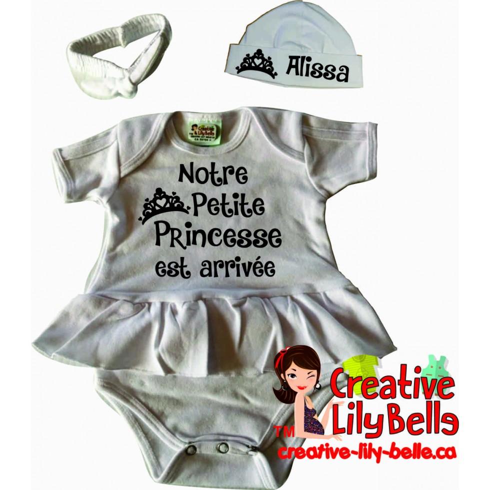 Baby Bodysuit Princesse 3317