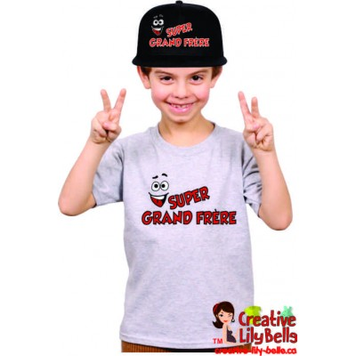 T-SHIRT SUPER GRAND FRÈRE 3323