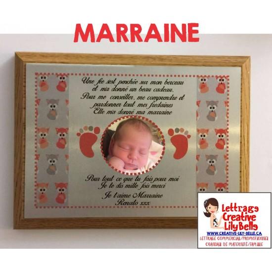 CADRE MARRAINE #C2