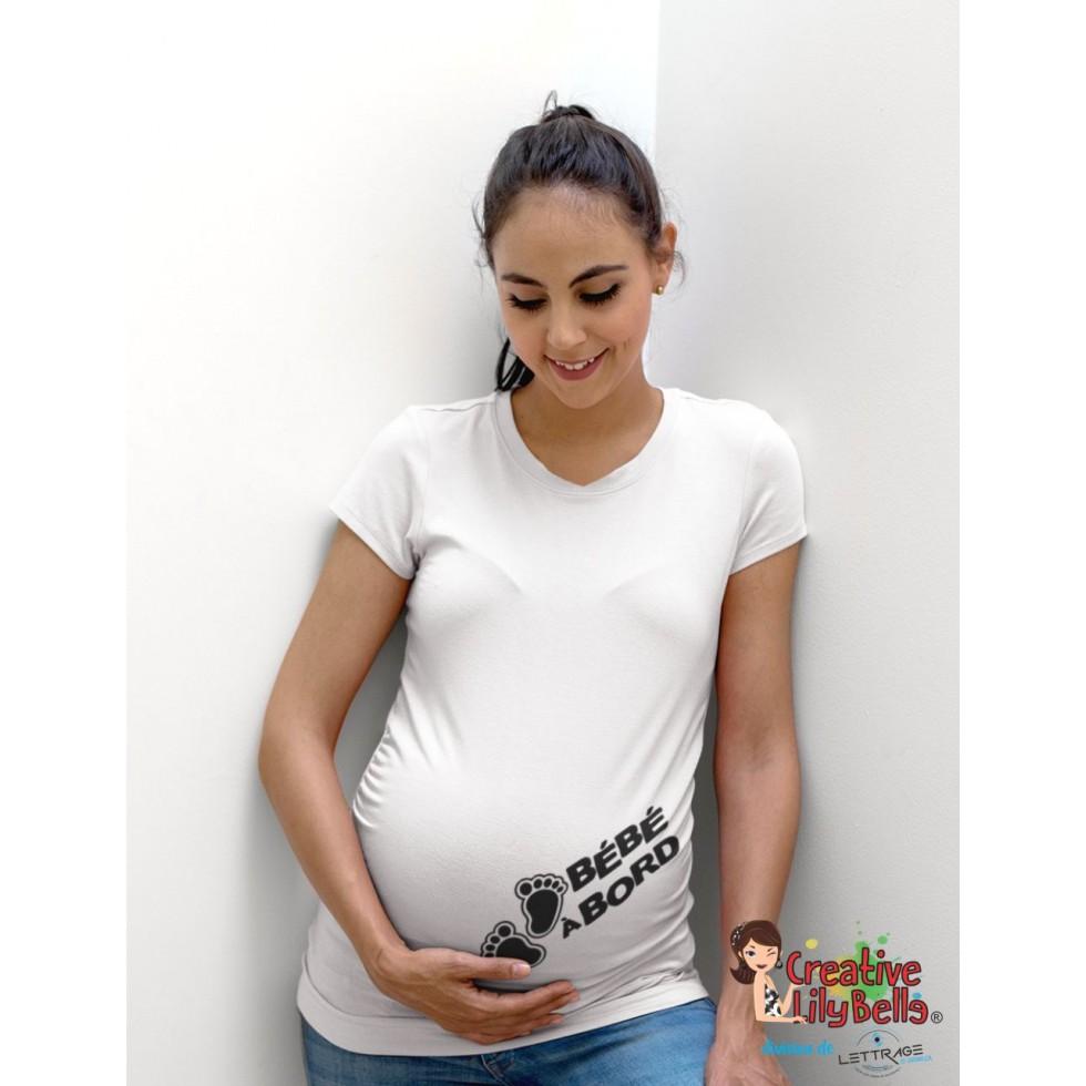 Bauchband-Baby On Board Grossesse Naissance Maternité Enfant Cadeau Maman