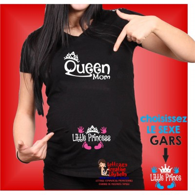 QUEEN MOM LITTLE PRINCE OR PRINCESS 370