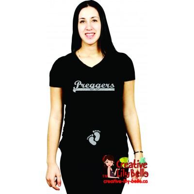maternity shirt preggers 313