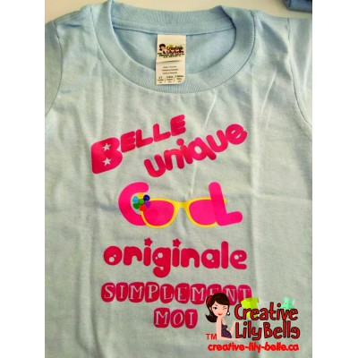 LOT#40 T-SHIRT COOL FILLE  (to be translated)
