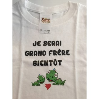 LOT#32 T-SHIRT GRAND FRERE DINO  (to be translated)