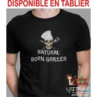 T-SHIRT NATURAL BORD GRILLER T-SHIRT  TB16