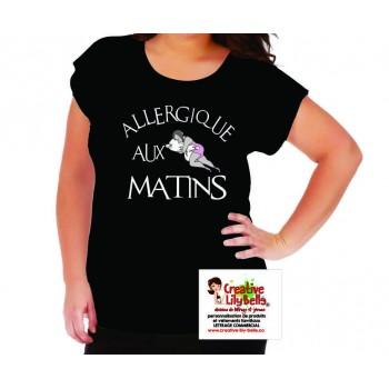 allergique aux matins femme 4264