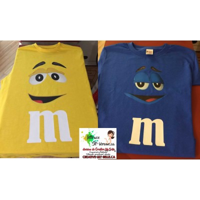 t-shirt bonbon mm 4252