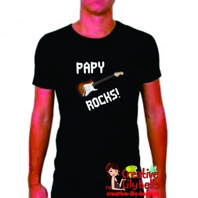 tshirt-papy-rocks-blanc