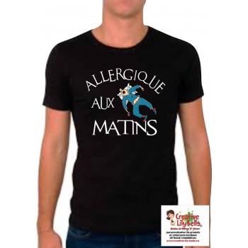 allergique aux matins homme 4266
