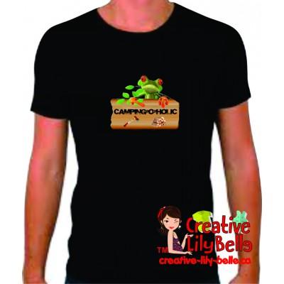t-shirt camping o holic 4116