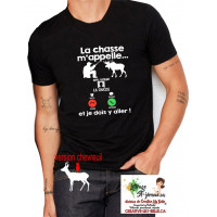 LA CHASSE M'APELLE (ORIGINAL OU CHEVREUIL) 4272