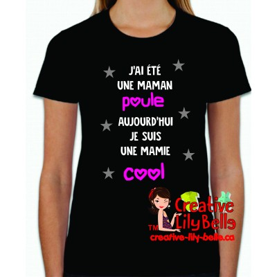maman poule mamie cool ts4134