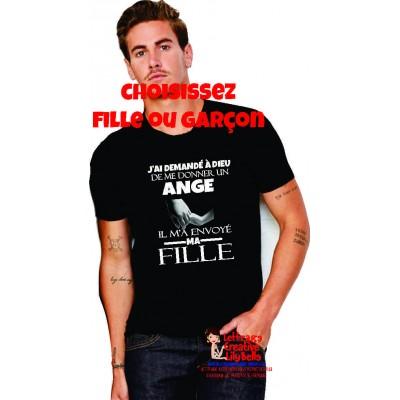 t-shirt mon ange 4226