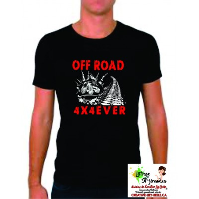 t-shirt off road 4254