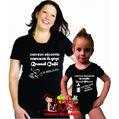 ON RELAXE T-SHIRT MAMAN 4257
