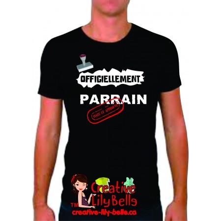 t-shirt parrain/marraine