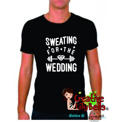 t-shirt sweating for wedding 4326