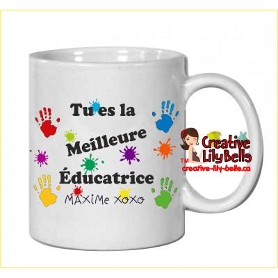 tasse éducatrice ou prof ou directeur(trice)  ou TES m15