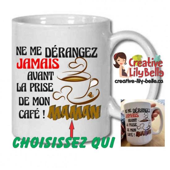 NE ME DÉRANGEZ PAS CAFÉ M49