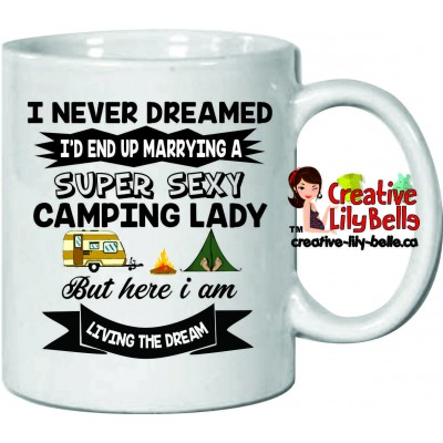tasse camping sexy girl m33