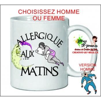 allergique aux matins femmes m48