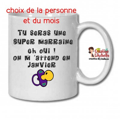 SUPER MARRAINE TASSE M7