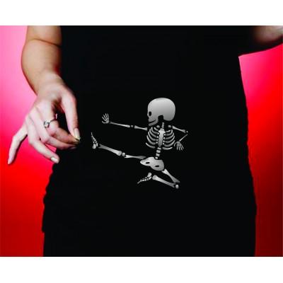 chandail de maternité rayon x squelette