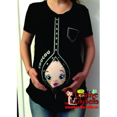 chandail de maternité chemise fashion GLITTER 278