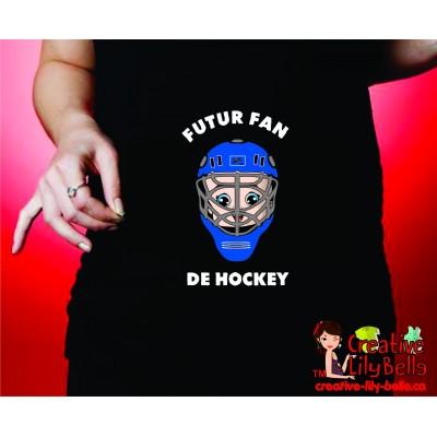chandail de maternité hockey casque 275